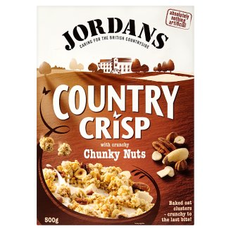 Jordans Country Crisp with Chunky Nuts 500 g