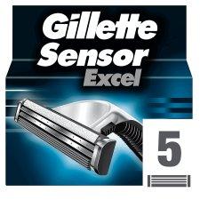 Gillette SensorExcel Men's Razor Blades - 5 Refills