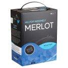 Hilltop Bor-Box Neszmély Felső-Magyarországi Merlot Dry Red Wine 12,5% 3 l