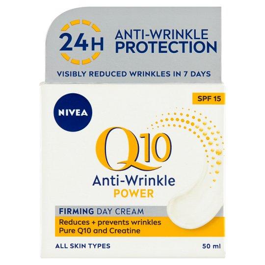 NIVEA Q10 Power Anti-Wrinkle Firming Day Cream SPF 15 50 ml