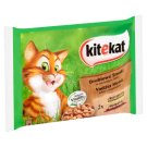 Kitekat Vadász Menü Complete Pet Food for Adult Cats with Chicken and Beef 4 x 100 g