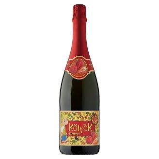 Kölyök Carbonated Strawberry Fruit Drink 0,75 l