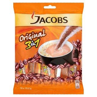 Jacobs Original 3in1 azonnal oldódó kávéitalpor 10 x 15,2 g
