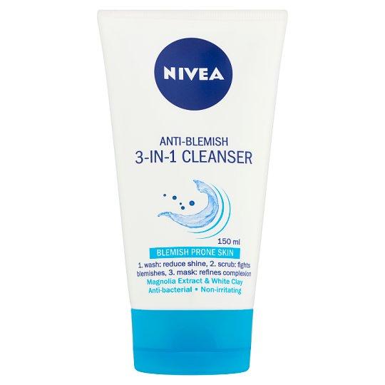 NIVEA 3-In-1 Cleanser for Blemish Prone Skin 150 ml
