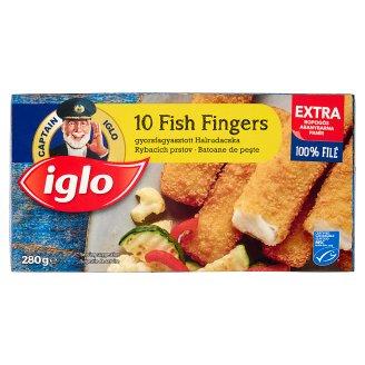 Iglo Quick-Frozen Fish Fingers 10 pcs 280 g