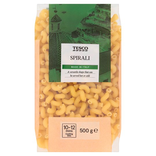 Tesco Spirali Durum Wheat Dry Pasta 500 g