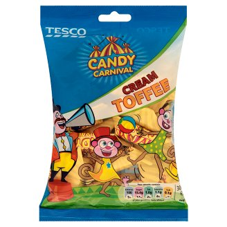 Tesco Candy Carnival Cream Toffee 300 g