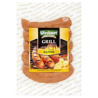 Wiesbauer Grill with Cheese Speciality 300 g