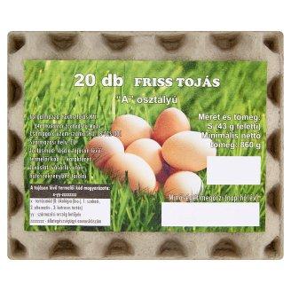 """""""A"""" Quality Fresh Egg S 20 pcs"""