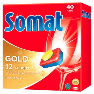 Somat Gold gépi mosogató tabletta 40 db