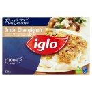 Iglo Gratin Champignon Quick-Frozen Fish Filet with Champignon 270 g