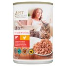 Tesco Pet Specialist Complete Cat Food in Sauce with Beef and Poultry 415 g