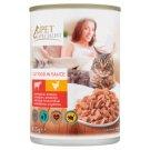 Tesco Pet Specialist teljes értékű állateledel felnőtt macskák számára marhával és baromfival 415 g