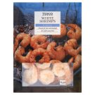 Tesco Quick-Frozen, Blanched White Shrimps 400 g