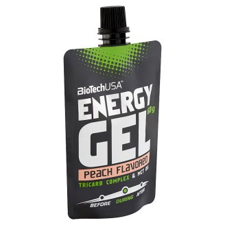 BioTech USA Peach Flavoured Energy Gel 60 g