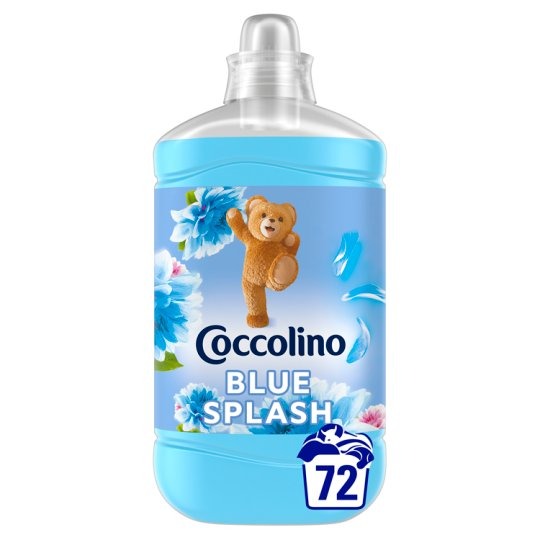 Coccolino Blue Splash öblítőkoncentrátum 72 mosás 1800 ml