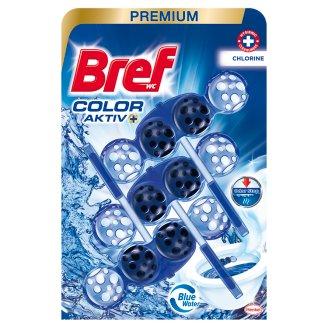 Bref Color Aktiv Chlorine Toilet Block 3 x 50 g