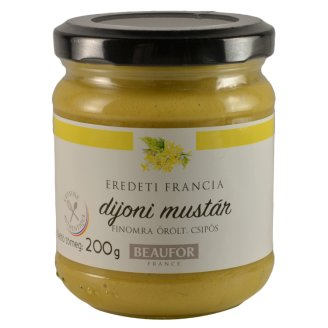 Beaufor Grated, Hot Dijon Mustard 200 g
