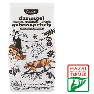 Cornexi Dzsungexi Honey-Malt-Cocoa Cereal Flakes with Whole Grain Cereals, Ca + Vitamin D 250 g