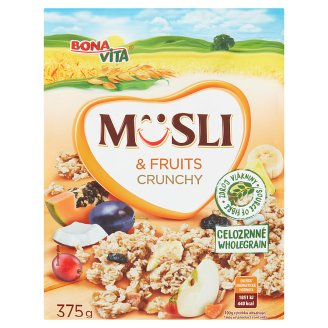 Bona Vita Baked Crunchy Muesli with Fruits 375 g
