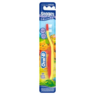 Oral-B Stages 2 Extra Soft Toothbrush 2-4 Years