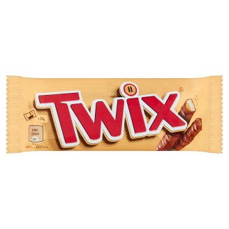 Twix Biscuit Bars with Caramel, Dipped in Milk Chocolate 2 pcs 50 g