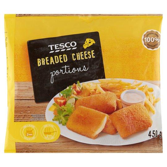 Tesco gyorsfagyasztott rántott sajt 450 g