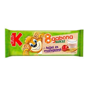 Kubu 8gabona Biscuit with Milk and Raisins 85 g