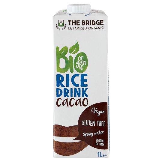 The Bridge Organic Gluten-Free Cocoa Flavoured Rice Drink 1 l