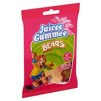 Juicee Gummee Bears gumimacik gyümölcsös ízű gumicukor 80 g