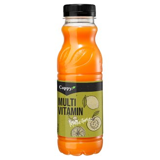 Cappy Multivitamin Mixed Fruit Nectar with Added Vitamins 330 ml