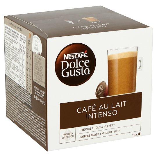 Nescafé Dolce Gusto Café au Lait Intenso teljes tejpor azonnal oldódó kávéval 16 db 160 g