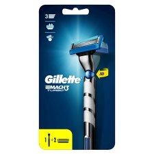 Gillette Mach3 Razor Handle + 2 Blade Refills