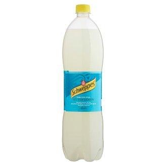 Schweppes Bitter Lemon Low-Energy Carbonated Soft Drink 1,5 l