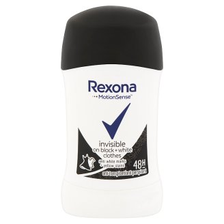 Rexona Invisible Black + White izzadásgátló stift 40 ml