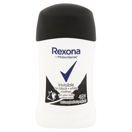Rexona Invisible Black + White Anti-Perspirant Stick 40 ml