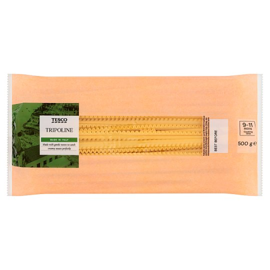 Tesco Tripoline Durum Dry Pasta 500 g