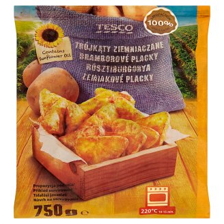 Tesco Quick-Frozen, Half-Fried Standard Rosti 750 g