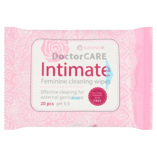DoctorCare Intimate Wet Wipes 20 pcs