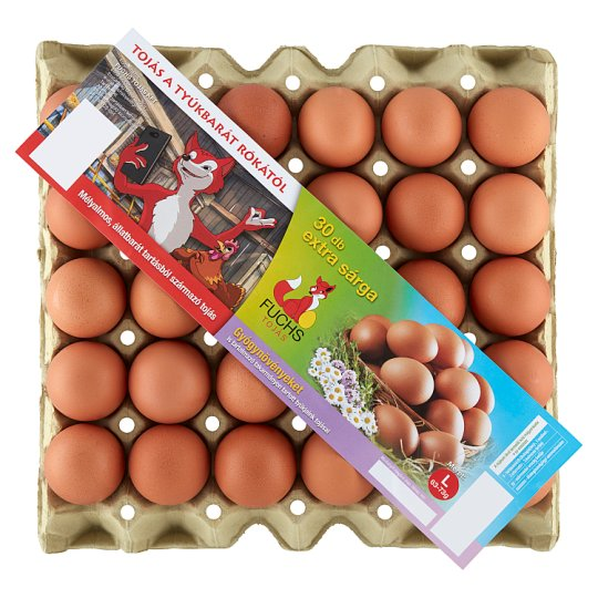 Fuchs Eggs L 30 pcs