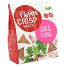 Finn Crisp Snacks rozs ropogós fokhagymával és zöldfűszerekkel 130 g