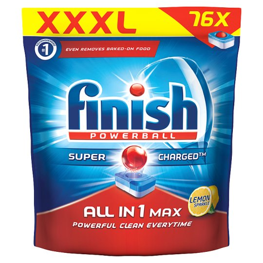 Finish All in 1 Max Lemon Dishwasher Tablets 76 pcs