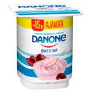 Danone Sour Cherry Flavoured Low-Fat Yoghurt with Live Cultures 140 g