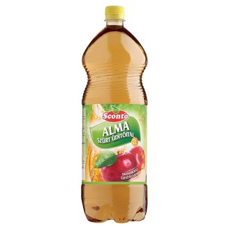 Sconto Energy-Free Filtered Apple Soft Drink with Sweeteners 2 l
