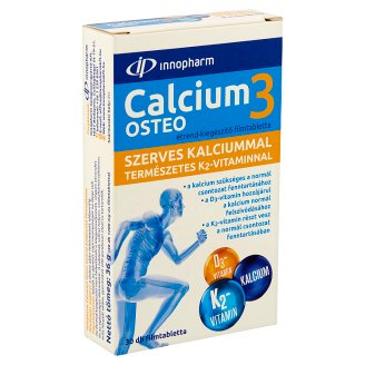 Innopharm Calcium3 Osteo Food Supplement Film-Coated Tablets 30 pcs 36 g