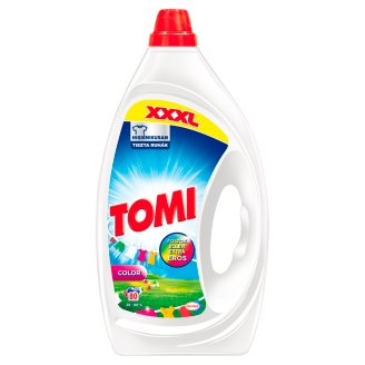 Tomi Max Power Color Liquid Detergent 80 Washes 4 l