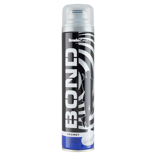 Bond Secret Shaving Foam 300 ml