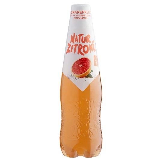 Natur Zitrone alkoholmentes, grapefruit ízű szénsavas ital steviával 0,5 l PET palack