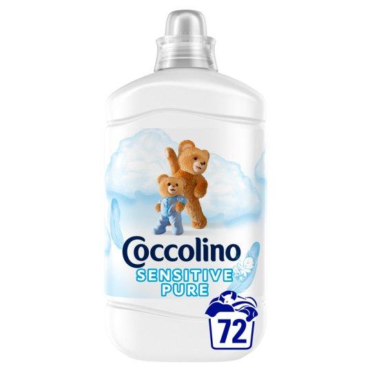Coccolino Sensitive öblítőkoncentrátum 72 mosás 1800 ml