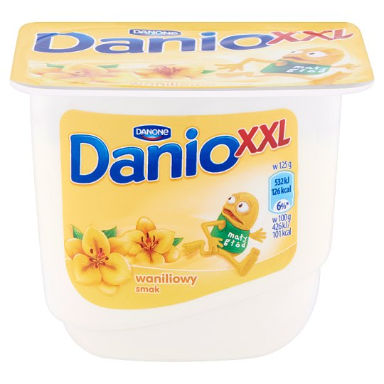 Danone Danio XXL vaníliaízű krémtúró 220 g